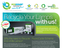 Recycle Your Lamps Flyer - EcoPowerSavers