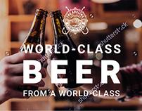 Landing page - beer