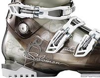 Design Ski Boots in the French Alps