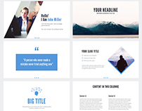 Free Simple Powerpoint Template
