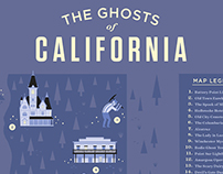 Ghosts of California Map