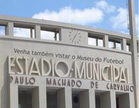 Cartaz de ponto turístico de São Paulo