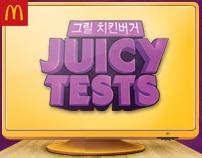 McDonald's Korea - Juicy Tests