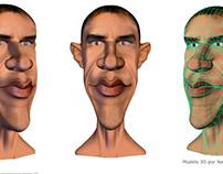 3D model - Obama