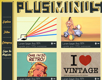 Plus Minus - Vintage Design Site