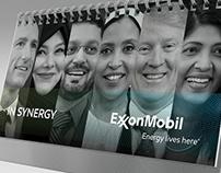 ExxonMobil Qatar - 2018 Calendar Desk - In Synergy