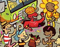 Encontre o Rex no Carnaval