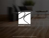 Parketsense: Parquet Boutique Logo & Identity