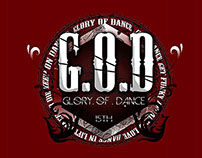 G.O.D 15th LOGO