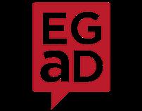 "Graphic Design: ""EGaD"" Program Branding/Advert"