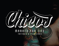 REBRANDING Chicos Marked for Life - Tattoos & Piercings