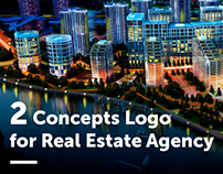 2 Concepts Logo for the Kiev Real Estate Agency