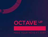 "Octave Up ""Make You Move ft AVRY"" Track Art"