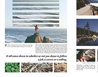 Editorial Spread / The Photography of Skyler Greene
