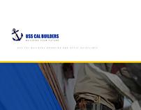 USS CAL BUILDERS BRANDING/STYLE GUIDE & WEB DESIGN V. 1
