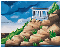 "The mini-mural for КП ""ЭЛУАД"""
