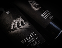 Maestro Wine label