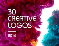 Best 30 Creative Logos I 2016