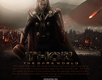 "New poster for ""Thor The dark world"" Film"