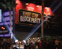 SUNSET STRIP BLOCK PARTY