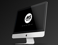 MSBeats logo & responsive one page website