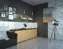 Кухня для открытого пространства