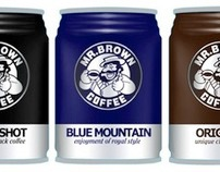 Mr Brown Coffee Re-packaging Concept