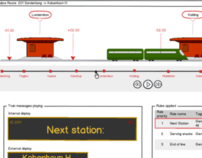 UX Design - a Train Information System