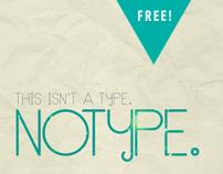 NoType Typeface