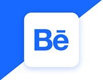 Behance iOS application concept