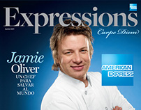 American Express Magazine Covers