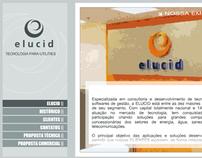 Apresentação interativa Elucid 2004