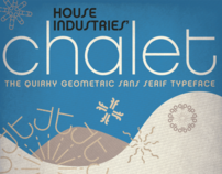 Chalet Typeface Poster and Animation