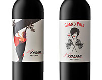 Kayalami Wine Labels