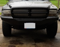2nd Generation Dodge Dakota Custom Bumpers