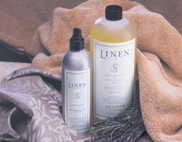 Linen Soap and Spray for Bonjour of Switzerland
