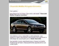Proposta de malling para o Pulsar Chevrolet