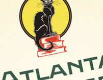 Atlanta Vintage Books Logo & Window Graphics