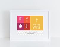 1 Corinthians 10:31 Infographic Print