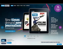 Design Tech at The Daily - newspaper for the iPad