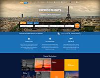 Express Flights - Travel website