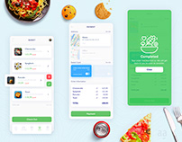 Food Order App UI / UX Design