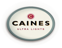 Caines ultra light cigarettes