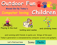 Outdoor Fun missed out by todays computer loving Childr