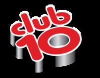 Airtel Club 10 Typography