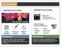 Infographic Presentation - Showstart.com