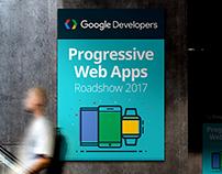 Google PWA Sydney Roadshow Branding