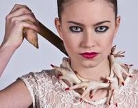 food design - chicken necklace
