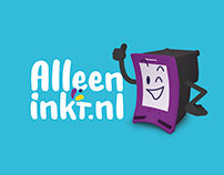 Rebranding Alleeninkt.nl - Webshop in inkt en toners