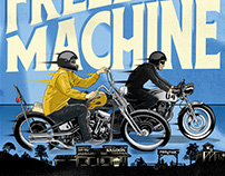 Freedom Machine Show Poster